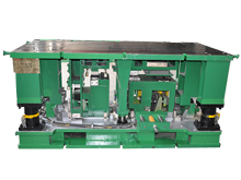 Cabinet punching mould