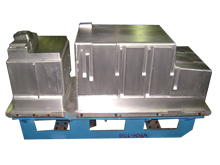 Cabinet foaming mould for SBS