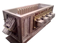 Cabinet vacuum thermoforming mould(duralumin material)